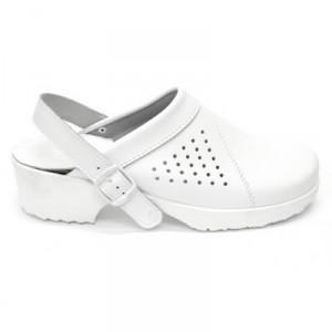 Sandaalid, lahtine kand ja rihm, valge 38