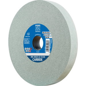 Slīpdisks 200x25/32mm P120 BW CN CARBIDE