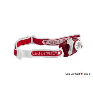 Headlamp SEO5 Red, 3xAAA, white/red light, IPX6, 180lm, LedLenser