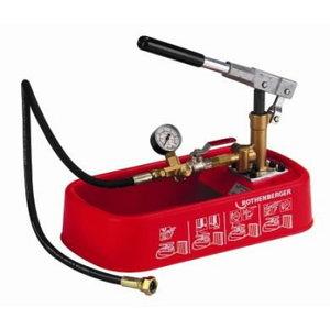 Rankinė pompa vamzdyno testavimui RP 30, Rothenberger