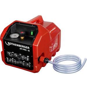 Testēšanas sūknis RP PRO III, elektrisks, Rothenberger