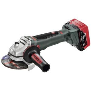 Cordless angle grinder WB 18 LTX BL 125 Quick / 5,5 Ah LiHD, Metabo