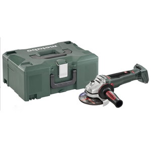 Angle grinder WB 18 LTX BL 125 Quick, w.o. battery/charger, Metabo
