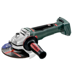 Angle grinder WB 18 LTX BL 150 Quick, w.o. battery/charger, Metabo