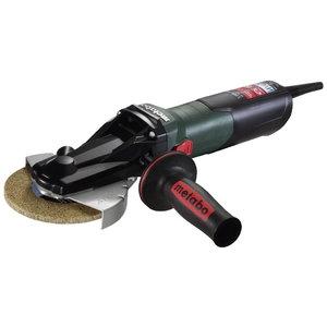 Flat-head angle grinder WEVF 10-125 Quick INOX, Metabo