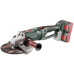 Cordless angle grinder WPB 36-18 LTX BL 230 / 4 x 6,2Ah LiHD, Metabo