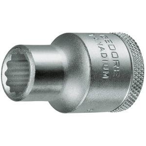 Socket 1/2'' D19 12mm, Gedore