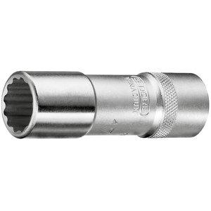 12 stūru muciņa 17mm n.D19L, 1/2'', garā, Gedore