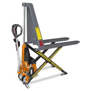 Žirklinis palečių vežimėlis  1t, Unicraft