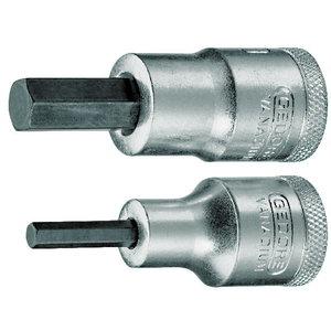 Sisekuuskantpadrun 1/2 6mm L60mm IN19, Gedore