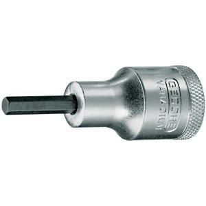 sisekuuskantpadrun 1/2 10mm L60mm IN19, Gedore