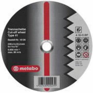 Värv.met lõikeketas 230x3,0x22 mm / A30OBFT, Metabo