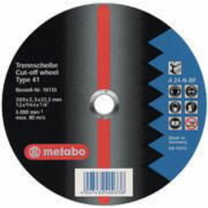 metallilõikeketas 300x3,5x22 A24N BF, Metabo