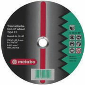 Cut-off wheel 230x3,0x22, Metabo