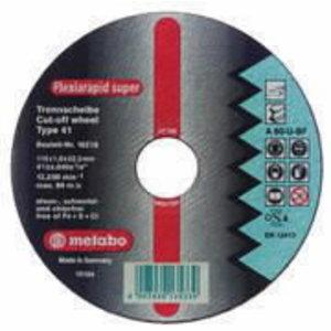 INOX lõikeketas 115x1,6x22 mm / A46R, Metabo