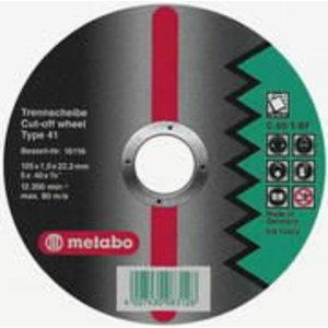 Kivilõikeketas 125x1,5x22 mm / C60T, Metabo