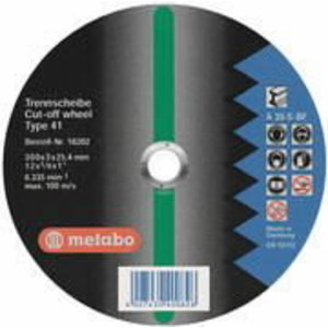 Metāla griezējdisks 300x3,0x25,4 A30S, Metabo