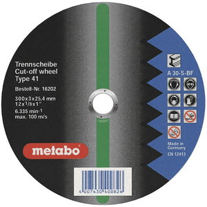 Metāla griezējdisks 350x3,5x25,4 mm. CS 23-355, Metabo