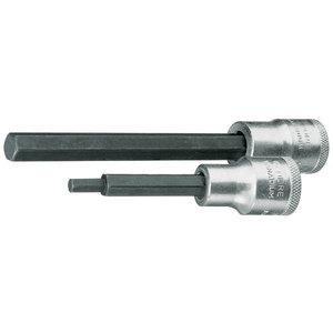 Sisekuuskantpadrun 1/2 5mm L90mm IN19L, Gedore