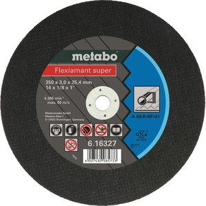 Diskas pjovimui 350x3,0x25,4 mm / A36-S. CS 23-355, Metabo