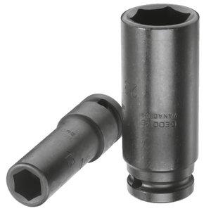 Impact Socket 1/2'', long K19L  17mm, Gedore