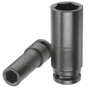 Impact Socket 1/2'', long K19L  19mm, Gedore