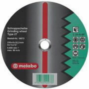 Slīpdisks akmenim 150x6.0x22 mm, Metabo
