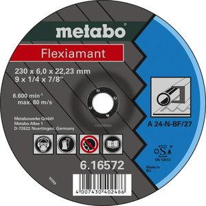 Metalo šlifavimo diskas 125x6,0mm Flexiamant, Metabo