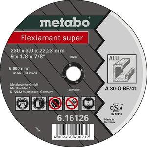 Värv.met lõikeketas 125x2,5x22 mm, A30O. Alumiinium, vask.., Metabo