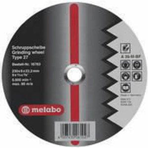 Шлифовальный диск для алюминия 180x6,0x22 мм, METABO