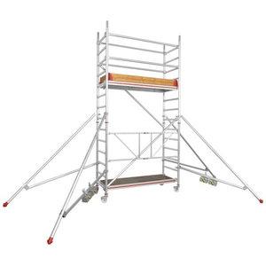 Pastoliai mobilūs, darbinis aukštis 2,6m 6177, Hymer