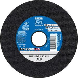 Pjovimo diskas125x2,4mm SG ALU, Pferd