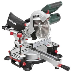 Crosscut and mitre saw KGSV 216 M, with speed control, Metabo