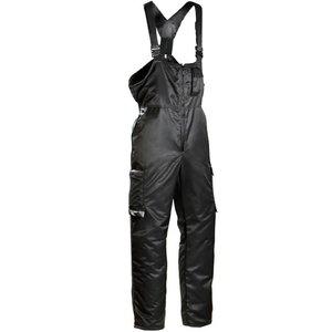Winter bib-trousers  619 black, Dimex