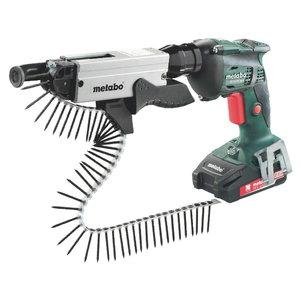 Cordless screwdriver SE 18 LTX 4000 + screwmagazine SM 5-55, Metabo