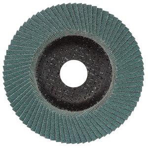 Slīpdisks lameļu 125 mm, P80, Novoflex, N-ZK, Metabo