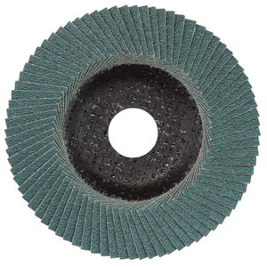 Šlifavimo diskas lapelinis 125 mm, P80, Novoflex, N-ZK, Metabo