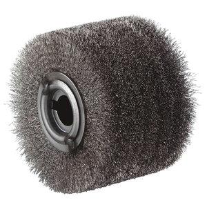 Vielinis šepetys Inox 100x70 mm, Metabo