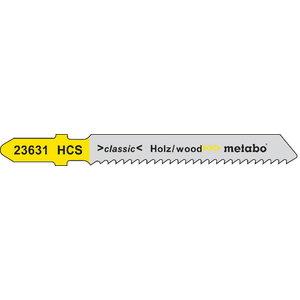 Tikksaetera puidule 2,0/51 mm, HCS - 5tk, Metabo