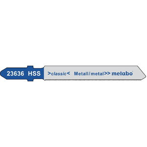Tikksaetera metallile 0,7/66 mm, HSS - 5tk, Metabo