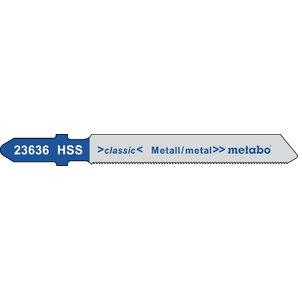 полотно для лобзиковой пилы, металл 0,7/50 HSS 5шт., METABO