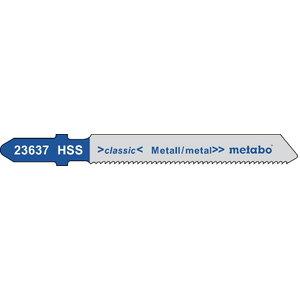 полотно для лобзиковой пилы, металл 1,2/50 HSS 5шт., METABO