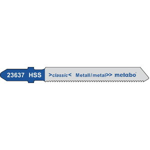 Tikksaetera metallile 1,2/50 mm, HSS - 5tk, Metabo