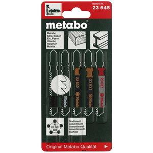 Tikksaeterade segakomplekt (puit, plast, metall) - 5tk, Metabo