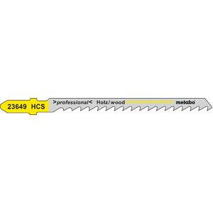 Tikksaetera puidule 4,0/74 mm, HCS - 5tk, Metabo