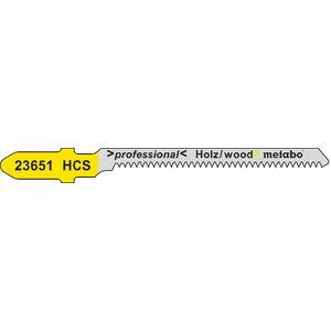 полотно для лобзиковой пилы, дерево 1,35/50 HCS 5шт., METABO