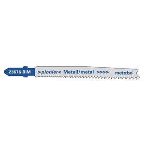 полотно для лобзиковой пилы, металл 74/прогрессивное, 5 шт., METABO