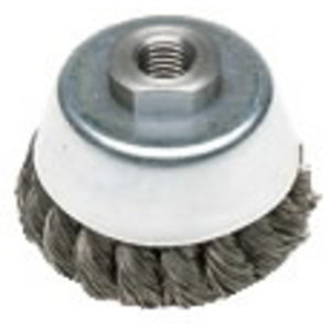 Wire cup brush twist knot, Metabo