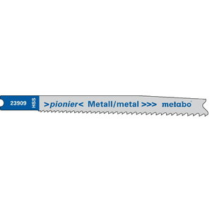 "U Tikksaetera metallile 2,0/74 mm, BiM ""Pionier"" - 5 tk, Metabo"