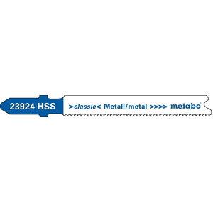 Tikksaetera metallile 1,0/66 mm, HSS - 5tk, Metabo